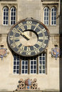 Horloge, université de trinité, Cambridge Photographie stock libre de droits