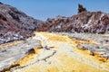 Hormoz Island yellow river, Hormozgan Province, Iran