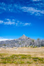 The horn view to mt buffalo australia Royalty Free Stock Image