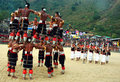 Hornbill Festival of Nagaland-India. Royalty Free Stock Photo