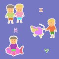 Horoscope aries fish twins Royalty Free Stock Photo