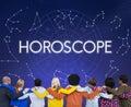 Horoscope Astral Calendar Future Prediction Signs Concept Royalty Free Stock Photo