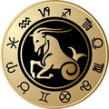Horoscope Capricorn Royalty Free Stock Image