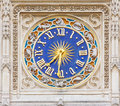 Horoscope Clock Royalty Free Stock Photography