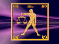 Horoscope, Libra. Stock Photo
