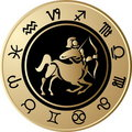 Horoscope Sagittarius Royalty Free Stock Photo