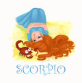 Horoscope Scorpio Royalty Free Stock Photo