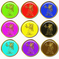 Horoscope symbol buttons Stock Photo