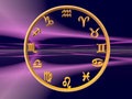 Horoscope, the zodiac. Royalty Free Stock Photography