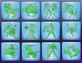 Horoscope zodiac Stock Photos