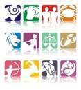 Horoscope Zodiac Illustration Royalty Free Stock Photography