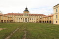 Horovice chateau the classicist czech republic Stock Photo