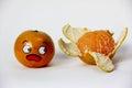 Horrified Orange