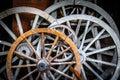 Horse Car Wheels Royalty Free Stock Photo