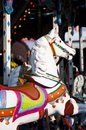Horse carousel on fun fair Royalty Free Stock Image