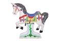 Horse carousel isolated Royalty Free Stock Photo