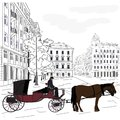 Horse Carriage Stock Image