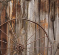 Horse Carriage Wheel Stock Image