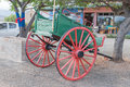 Horse-drawn cart in Calitzdorp