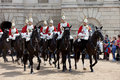 The Horse Guard Changing Ceremony Stock Images