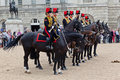The Horse Guards Parade in London Royalty Free Stock Images