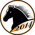 Horse head icon Royalty Free Stock Photo