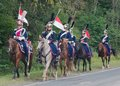 Horse Polish Lancers Stock Images