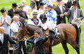 Horse racing al kazeem st ascot Stock Photos