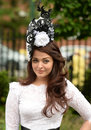 Horse racing mrs aishwarya rai bachchan indian acctress and former miss world at ascot Stock Photos