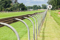 Horse Racing Track Royalty Free Stock Photo