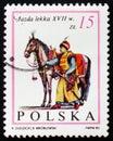 Horse rider, knight, XVII century, circa 1983 Royalty Free Stock Photo