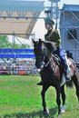 Horse riders competition