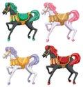 Horse rides Royalty Free Stock Photo