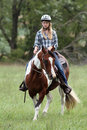 Horse riding Royalty Free Stock Photo