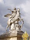 Horse statue in the center Paris. Royalty Free Stock Photography