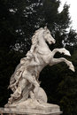 Horse statue hofburg complex vienna austria in front of the natural history museum in Stock Photo