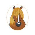 Horse trailer brown baby picture frame