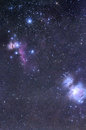 Horsehead et orion nebula Images stock