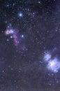 Horsehead y orion nebula Imagenes de archivo