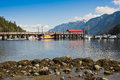 Horseshoe Bay, pier, BC, Canada Royalty Free Stock Photography