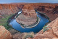 Horseshoe Bend near Page AZ Royalty Free Stock Images