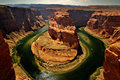 Horseshoe bend, Page , Arizona Royalty Free Stock Photo