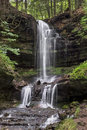 Horseshoe Falls in Munising Royalty Free Stock Photo