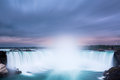 Horseshoe Falls at Niagara Falls Royalty Free Stock Photo