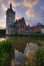 Horst castle Royalty Free Stock Photos