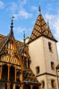 Hospice at Beaune Stock Image