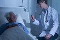 Hospice care ward Royalty Free Stock Photo
