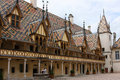 Hospices in Beaune Stock Photography