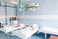 Hospital chamber interior without sicks photo of Stock Images