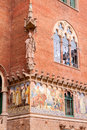 Hospital de la Santa Creu i de Sant Pau Royalty Free Stock Photos